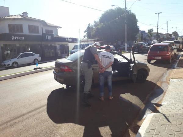 Coronel Bicaco: BM prende autor de furto qualificado em escola