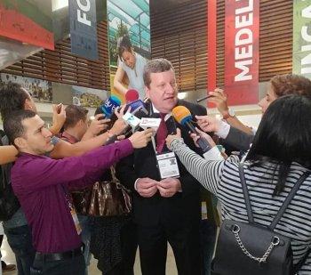 Portelense Luciano Buligon representa o Brasil em evento mundial na Colômbia