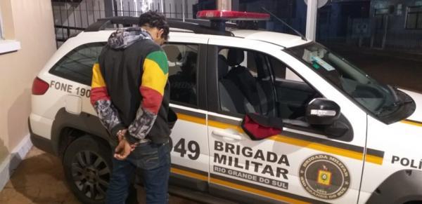 Brigada Militar de Santo Augusto prende procurado da Justiça