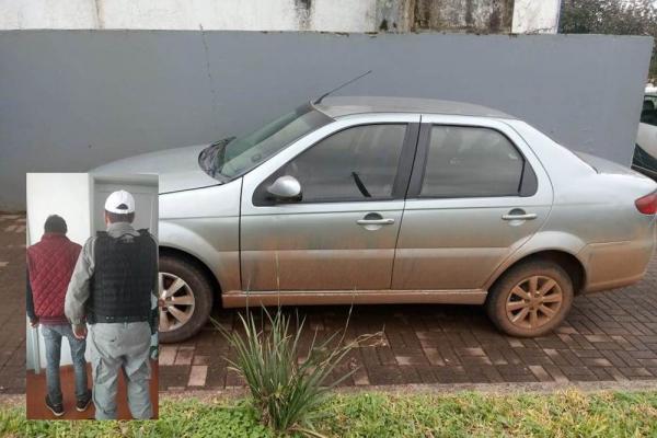 BM recupera em Rodeio Bonito carro furtado em Novo Hamburgo