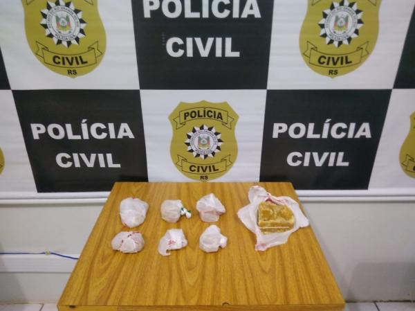 Polícia Civil apreende 1Kg de Crack em Três Passos
