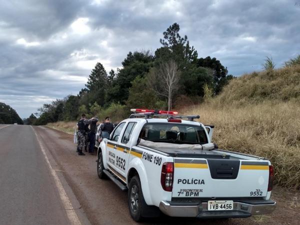 Suspeito de efetuar disparos contra policiais militares é preso na BR 468 em Três Passos
