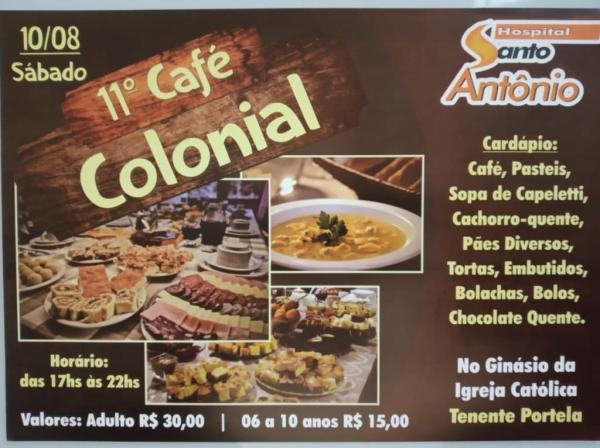 HSA promove mais uma edição do tradicional Café Colonial