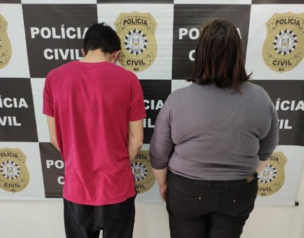 Polícia Civil de Tenente Portela prende duas pessoas por tráfico de drogas