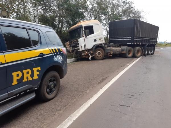 Adolescente conduzindo carro roubado perde a vida em acidente de trânsito na BR 386 em Iraí