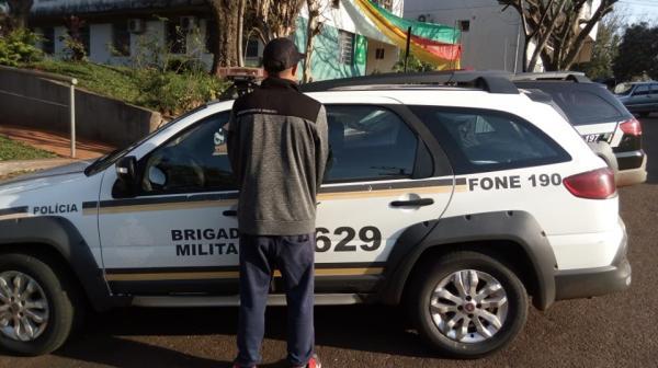Procurado da Justiça é preso pela Brigada Militar em Miraguaí