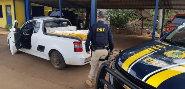 PRF apreende mais de meia tonelada de alimentos transportados irregularmente