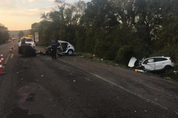 Seis pessoas morrem em acidente na BR-386, em Soledade