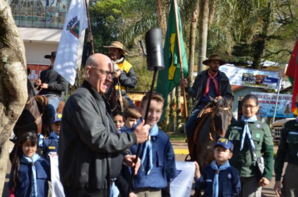 Semana da Pátria foi aberta oficialmente em Tte Portela