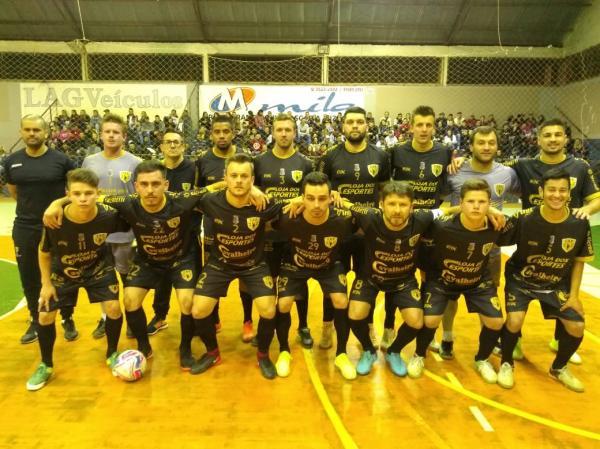 Clube Atlético Portela joga sua segunda partida na Copa Noroeste de Futsal