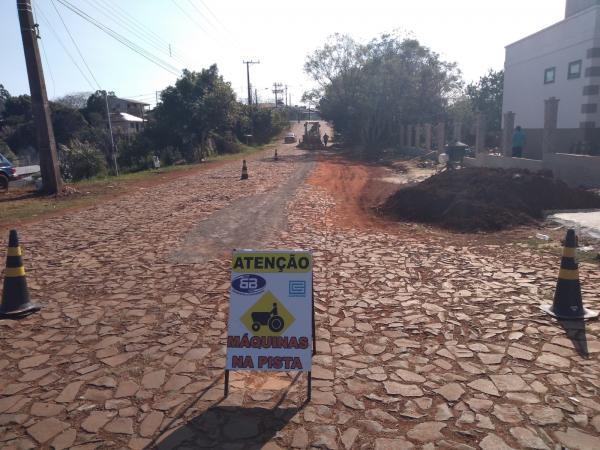 Corsan realiza melhorias no sistema de água no perímetro urbano de Tenente Portela