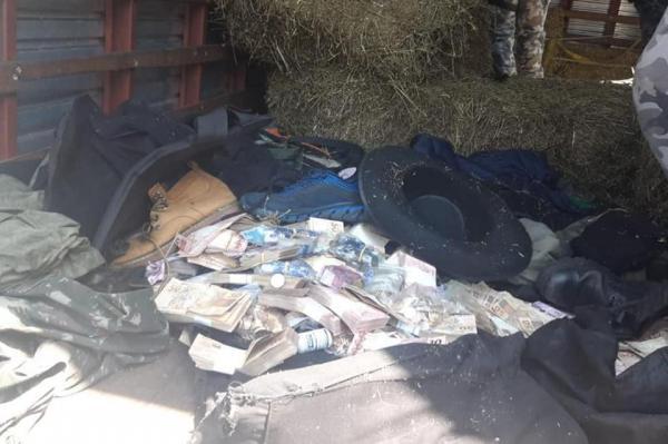 Dinheiro e armamento utilizado em assalto a banco é apreendido com caminhoneiro no RS