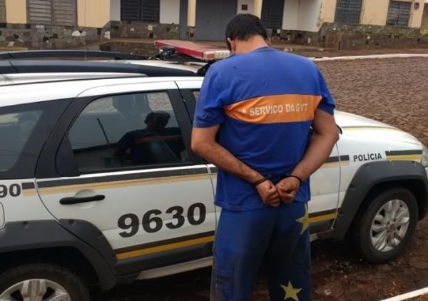Foragido da Justiça é capturado pela BM em Campo Novo