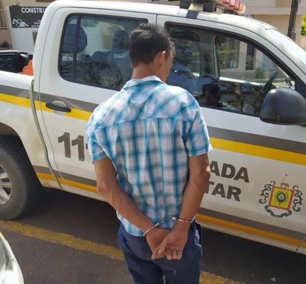 BM captura procurado da Justiça em Barra do Guarita