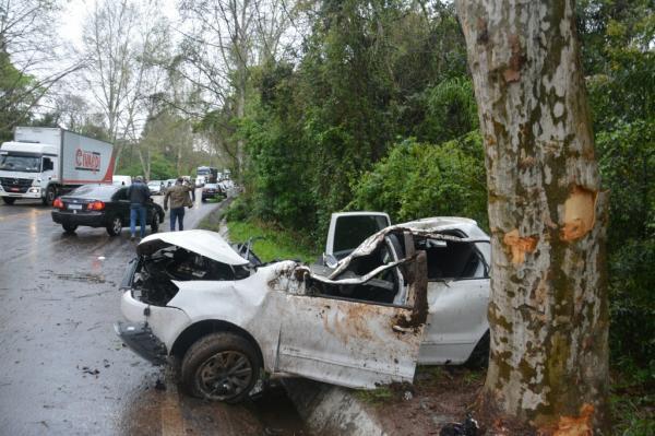 Portelense é vítima de grave acidente no Vale dos Sinos