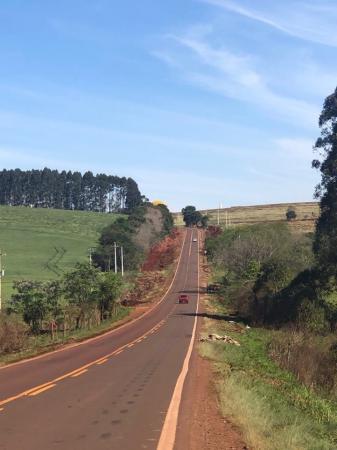 Prefeitura de Coronel Bicaco revitaliza margens da ERS 317