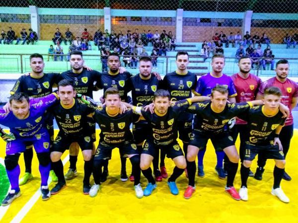 Copa Noroeste de Futsal: Em jogo turbulento Tenente Portela perde para Três Passos