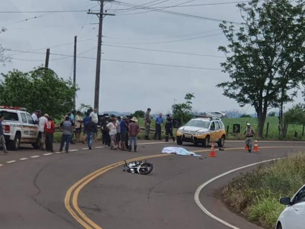 Colisão entre duas motocicletas deixa um homem morto em Tenente Portela