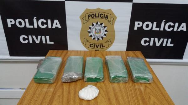 Três Passos: Polícia Civil prende em flagrante traficante de drogas