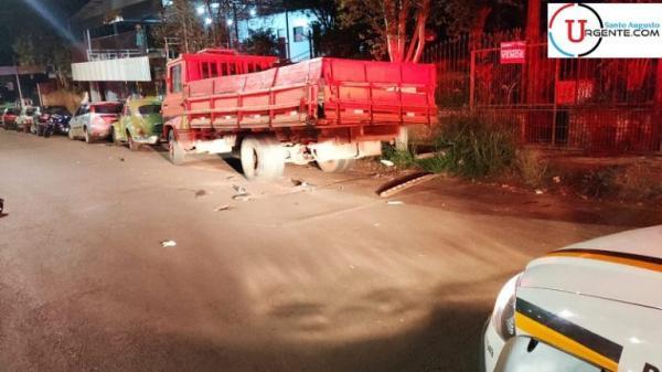 Jovem de 23 anos morre em acidente no centro de Santo Augusto
