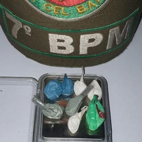 Brigada Militar de Santo Augusto prende homem por tráfico de drogas