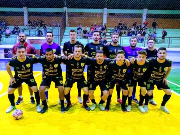 Tenente Portela está nas semifinais da Copa Noroeste de Futsal