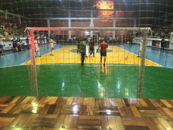 Um empate garante Tenente Portela na decisão da Copa Noroeste de Futsal 2019