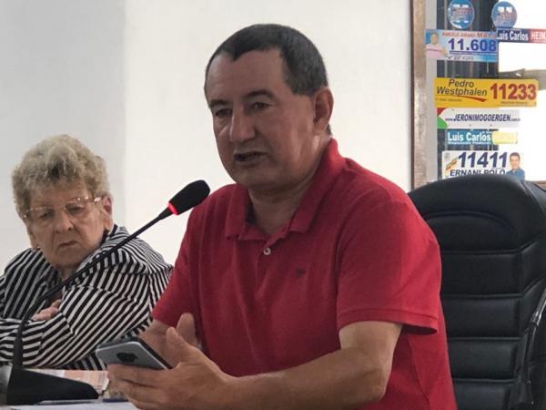 Vereador elogiou aquisição feita pela Prefeitura de Coronel Bicaco