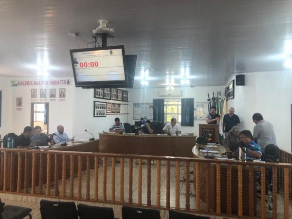 Vereadores adiam a votação do orçamento de 2020 de Coronel Bicaco