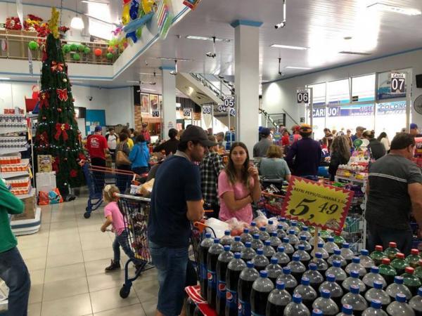 Vendas em supermercados brasileiros acumulam crescimento de 3,2% em 2019