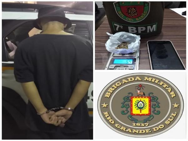 Drogas são apreendidas pela BM em Santo Augusto e Campo Novo