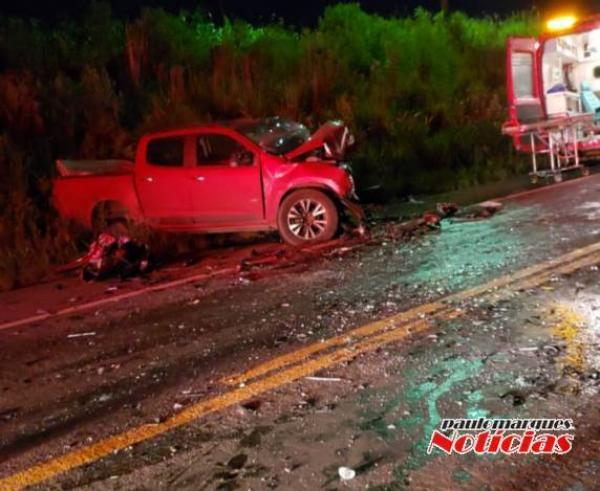 Três adultos e uma criança morreram em grave acidente na BR 472 em Boa Vista do Buricá