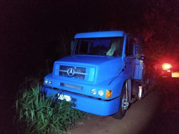 Caminhão furtado em Sapucaia do Sul é recuperado em Bom Progresso