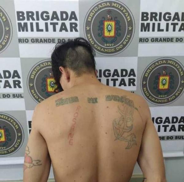 Grupo troca tiros com a polícia e são presos em Crissiumal