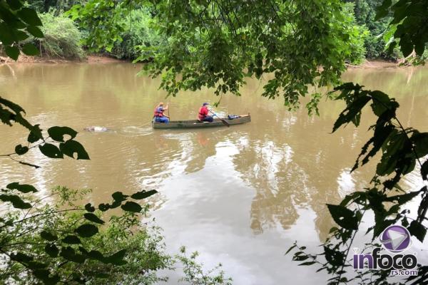 Pescador encontra corpo boiando no Rio da Várzea em Rodeio Bonito
