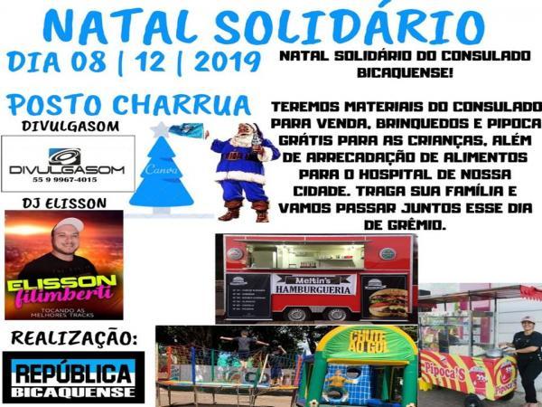 Gremistas de Coronel Bicaco promovem o Natal Solidário 2019