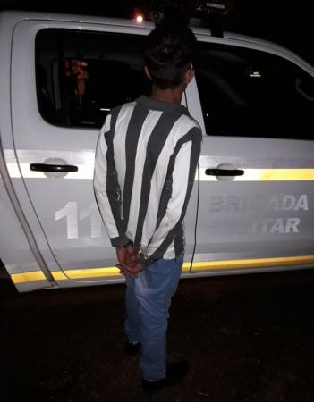 Brigada Militar prende dois homens por furtos na Região Celeiro