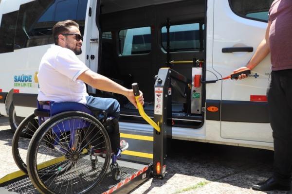 HSA é contemplado com veículo adaptado para transporte de cadeirantes