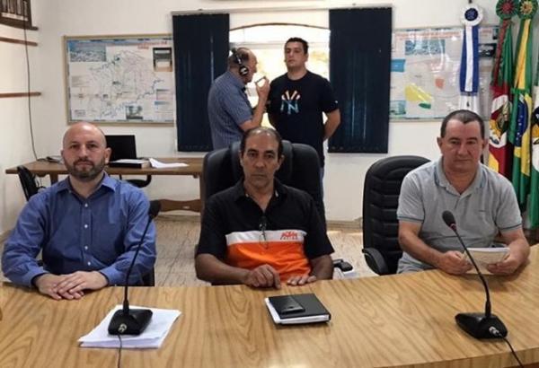 Vereador Egmar Lima de Ávila presidirá o Poder Legislativo de Coronel Bicaco em 2020
