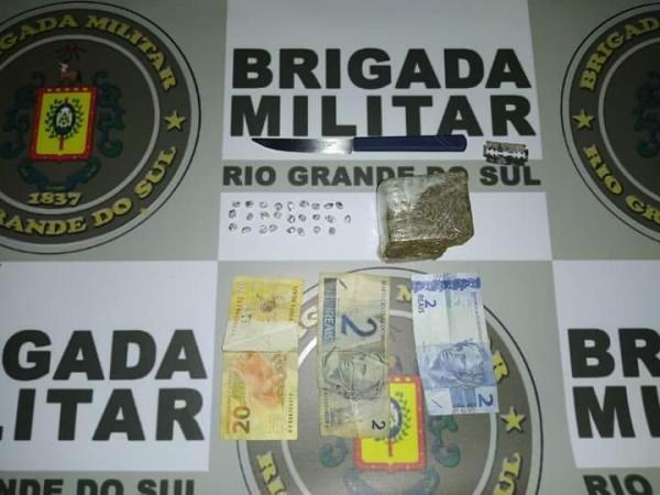 Traficante é preso em Crissiumal