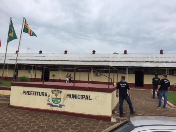 Operação policial investiga esquema de extorsão em prefeitura de São Nicolau