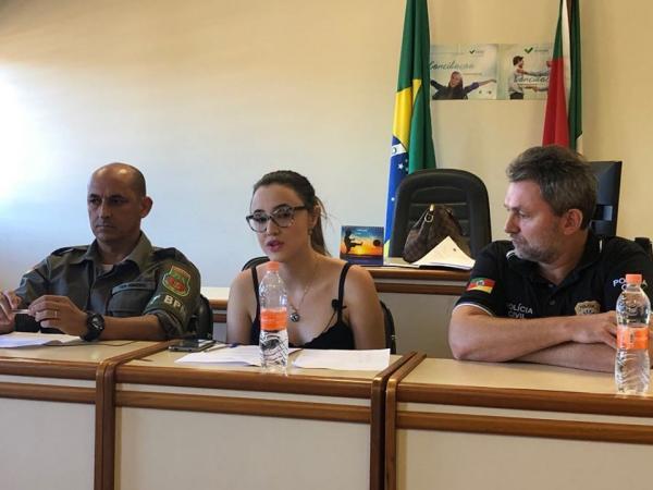 MP de Coronel Bicaco estimula as denúncias de violência doméstica