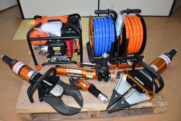 Três Passos: Bombeiros ganham equipamento para resgate de vítimas de acidentes