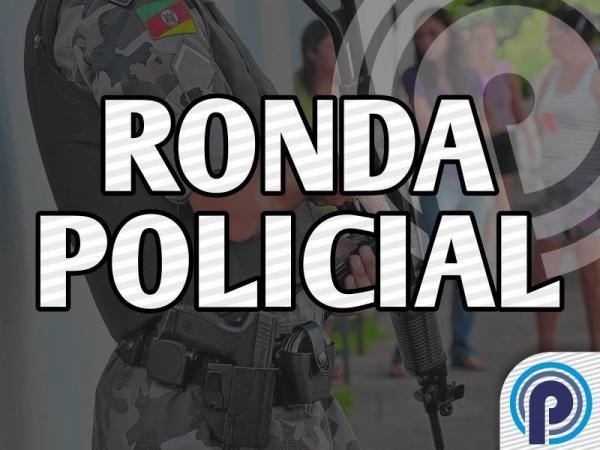 Bandidos armados assaltam residência e fazem proprietários reféns em Palmitinho