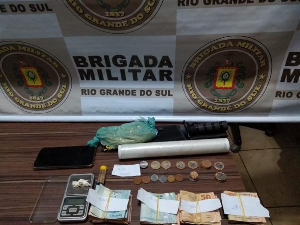 Suspeito de tráfico de drogas é preso em Santo Augusto