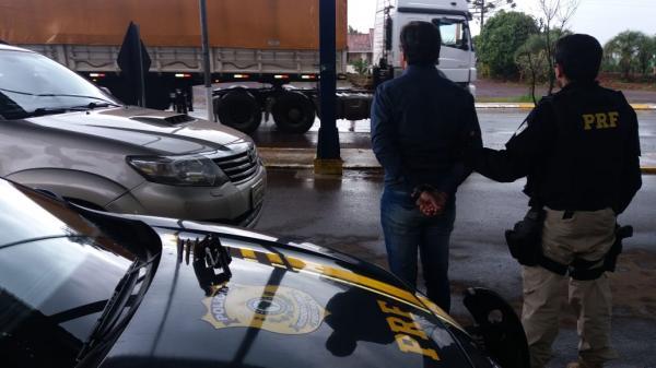 Motorista de veículo emplacado em São Martinho é preso na rodovia 386