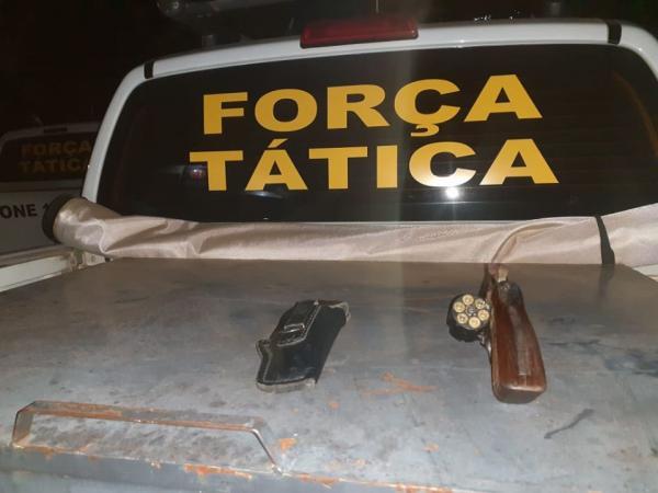 Homem é preso por porte ilegal de arma em Tenente Portela