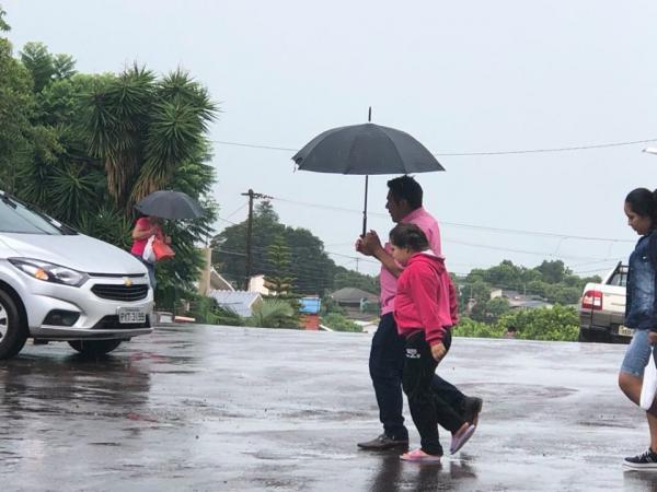 Até meados de abril, deverá chover 75 milímetros no município de Tenente Portela