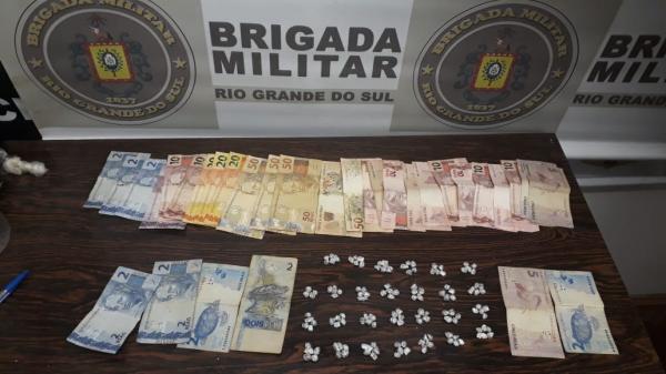 Brigada Militar prende traficantes em Campo Novo