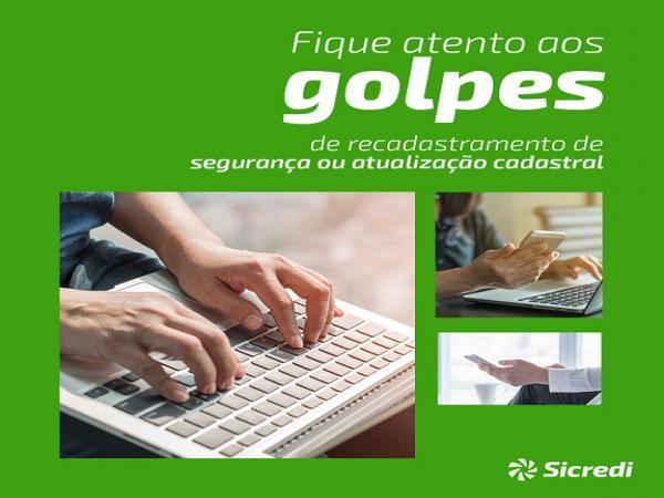 Sicredi Celeiro RS/SC alerta para tentativa de golpe em pedido de atualização de cadastro